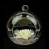 Stikla dekors - lampiņa