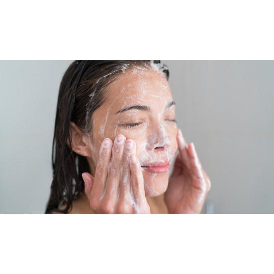 Attīrošs pieniņš sejai īpaši jūtīgai un sausai ādai