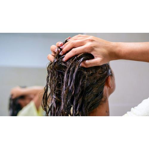 Maska bojātiem matiem