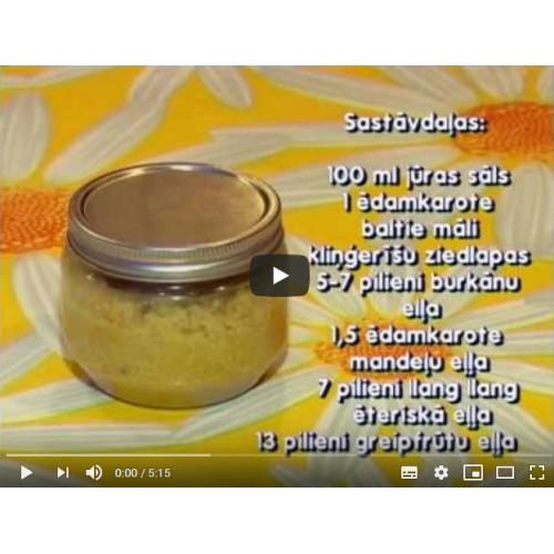 Kā pagatavot ķermeņa sāls skrubi